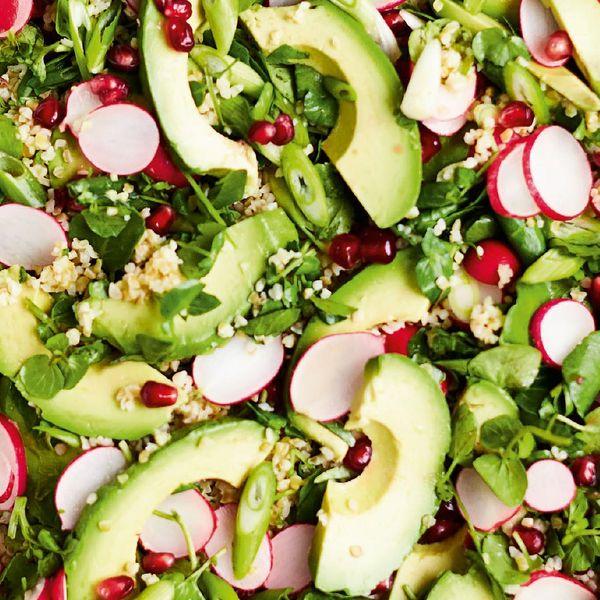 Avocado Radish Salad Recipe