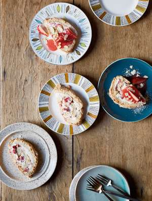 Strawberry and Almond Roulade Recipe Britain's Best Home Cook