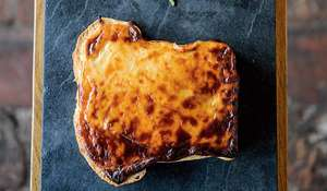 Caerphilly and Cider Welsh Rarebit from The Ethicurean Cookbook