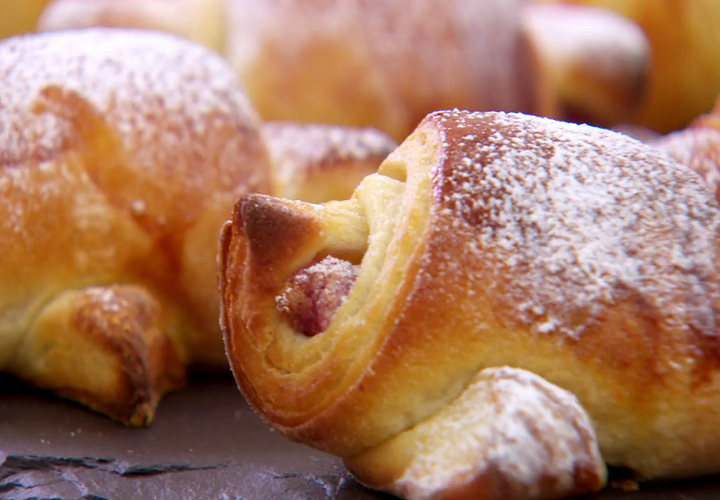 Nancy Birtwhistle's Raspberry and Almond Croissants
