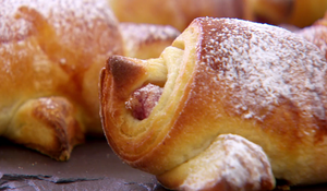 Nancy Birtwhistle's Raspberry and Almond Croissants