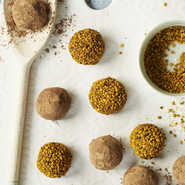 Image result for Bee pollen energy balls