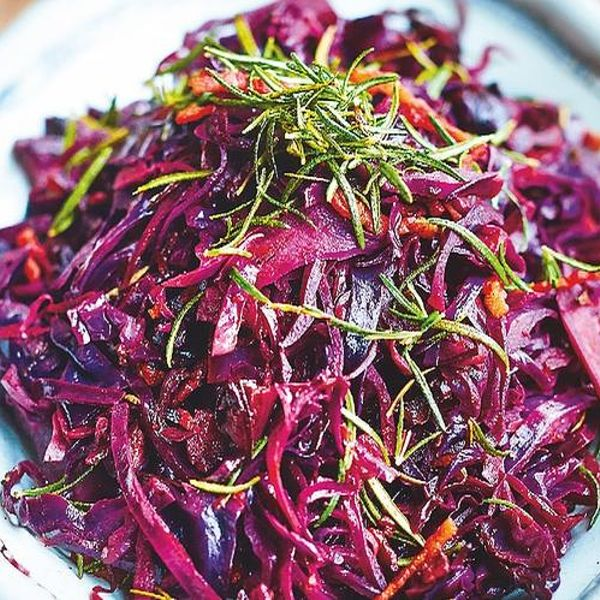 Jamie Oliver Red Cabbage Bacon Recipe Christmas Side For 2021