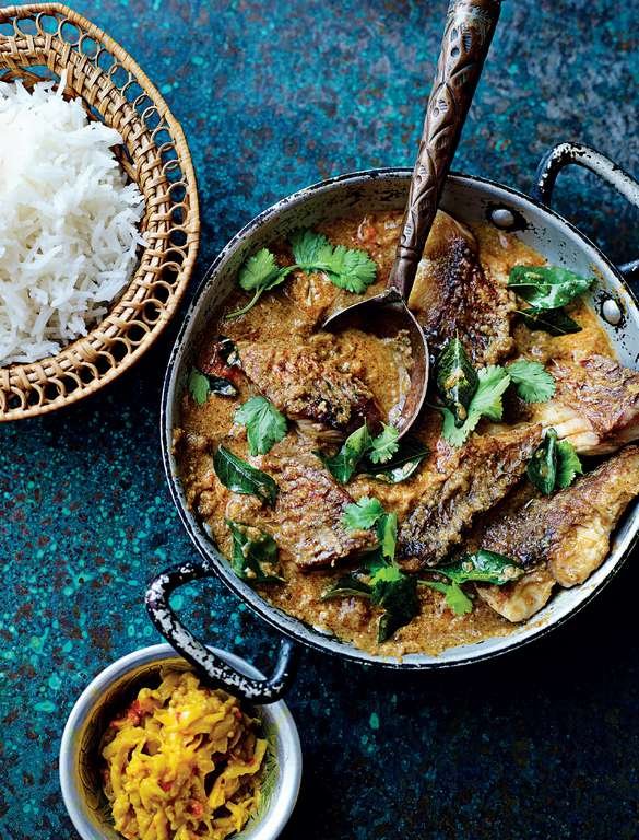 Red Snapper Coconut Curry