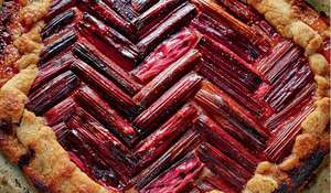 Rhubarb Galette Chez Panisse