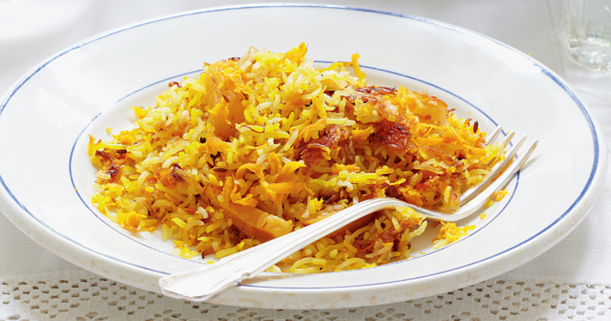 Persian Rice The Happy Foodie