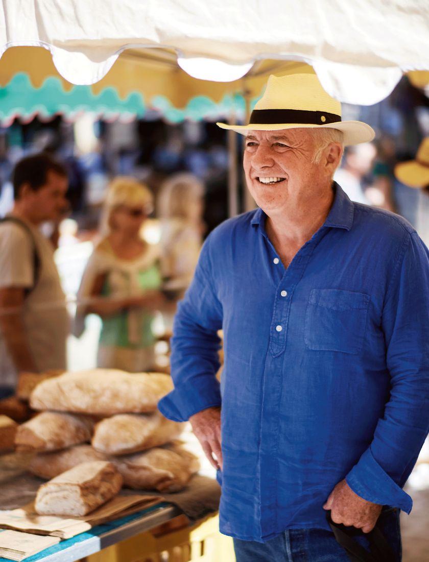 Rick Stein in French market