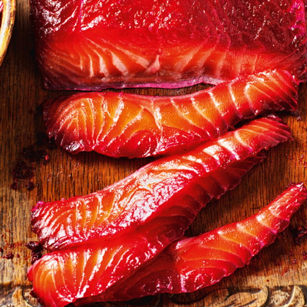 https://thehappyfoodie.co.uk/recipes/beetroot-cured-salmon-with-cucumber-and-apple-pickle