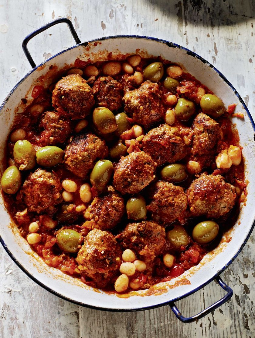 Rick Stein French Meatballs with Olives | Summer One Pot