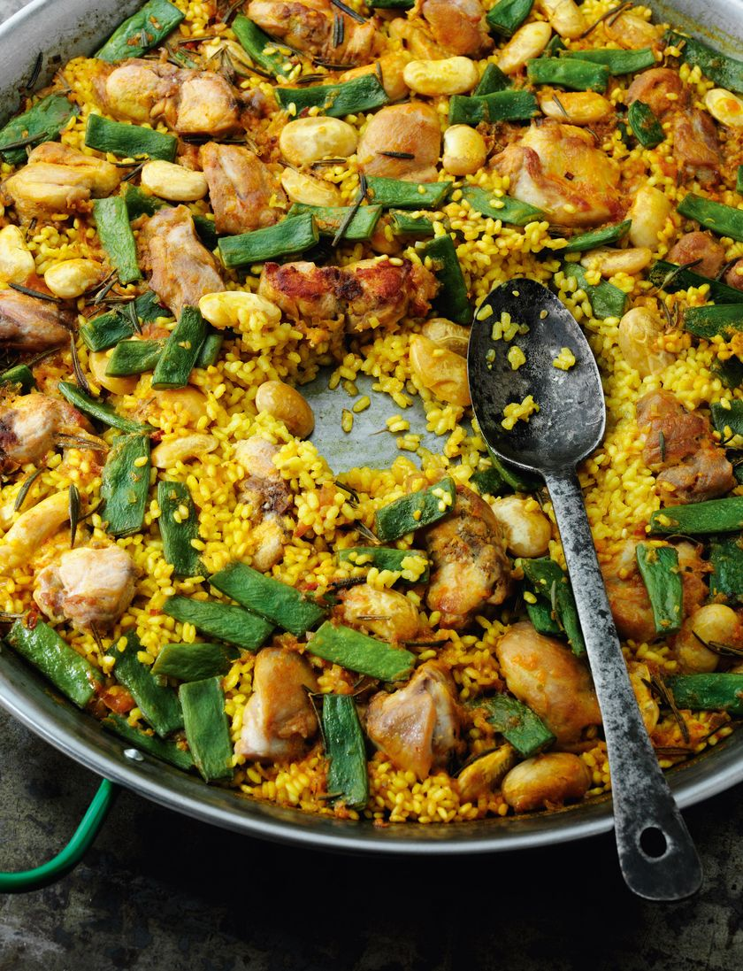 Rick Stein's Best Recipes - Valencian Paella