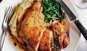 Rick Stein Comté Stuffed Chicken Leg | Secret France BBC2