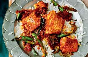 Madras Fish Curry of Snapper, Tomato and Tamarind
