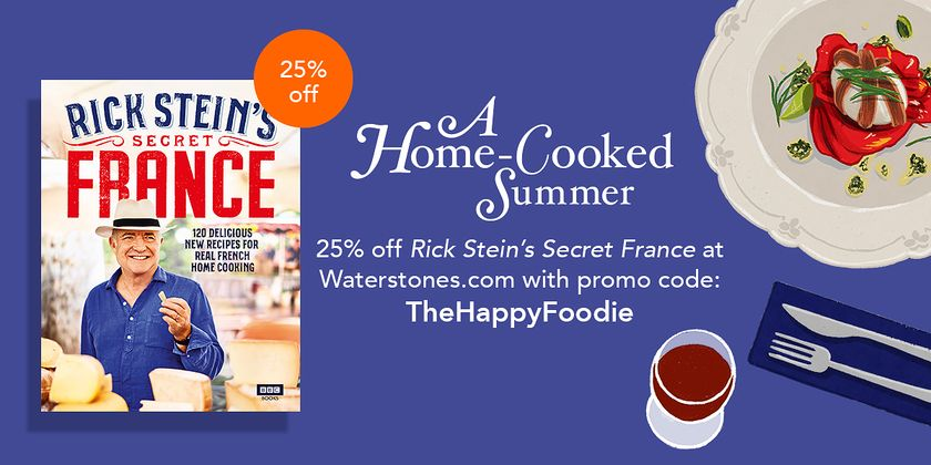 Get 25% off Rick Stein's Secret France with code TheHappyFoodie