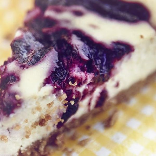 Blackberry Ricotta Cheesecake The Happy Foodie