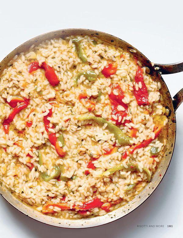 risotto recipes risotto with peppers anna del conte italian kitchen