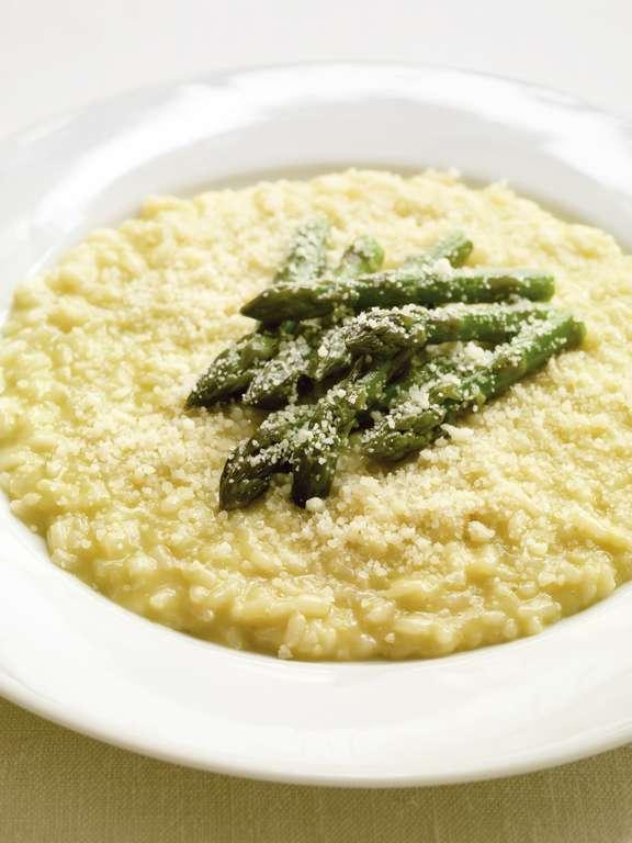 Risotto with Asparagus (risotto con gli asparagi)