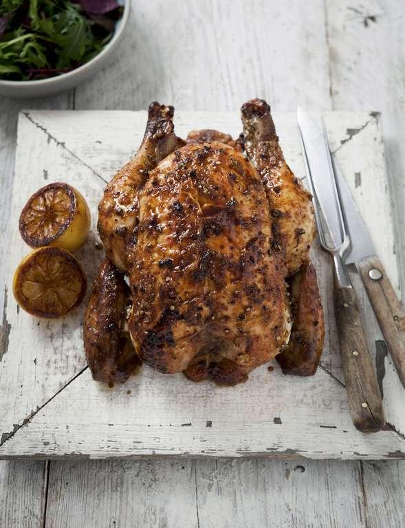 Rosemary Shrager's Lemon-cured Chicken