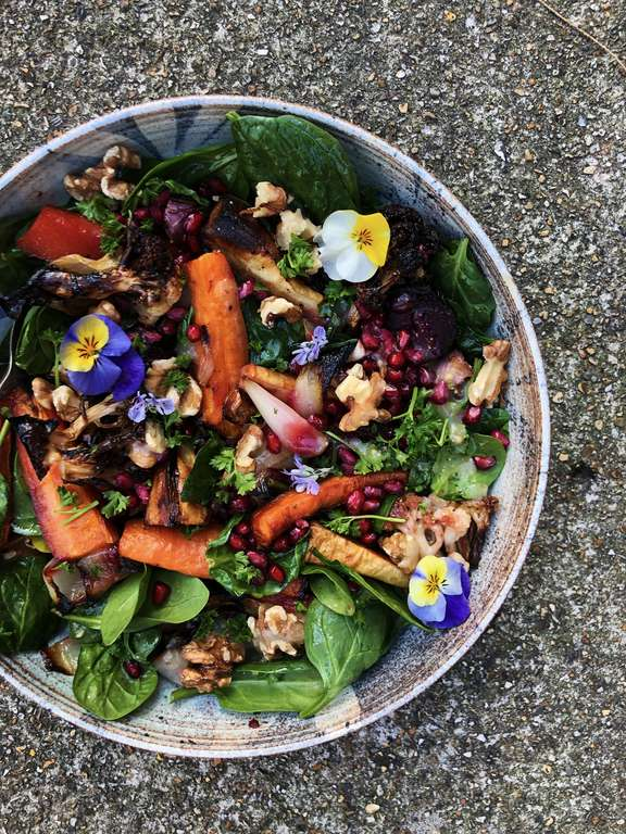 Roasted Roots Happy Salad