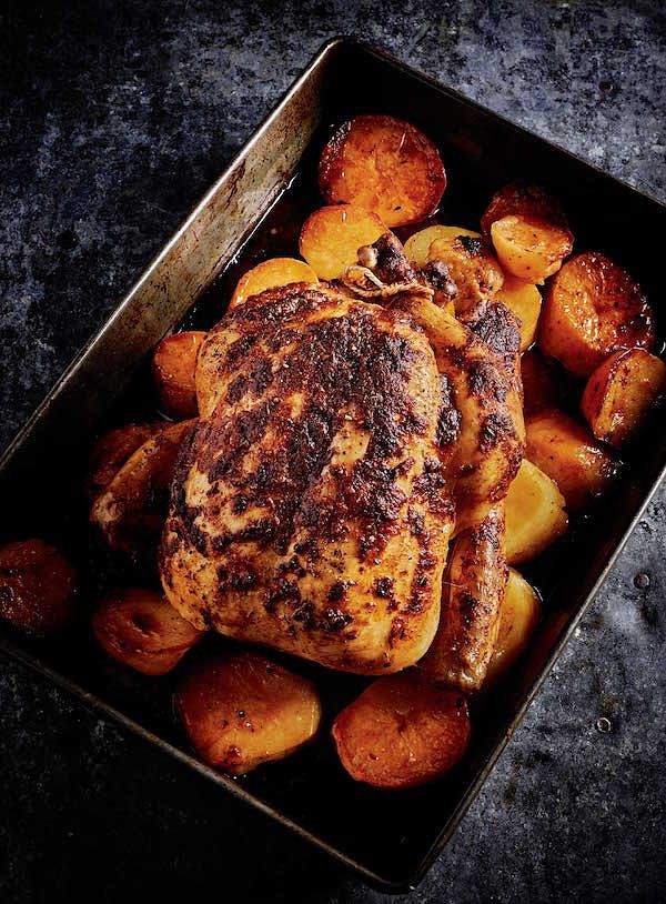 rick stein secret france Rotisserie Style Chicken