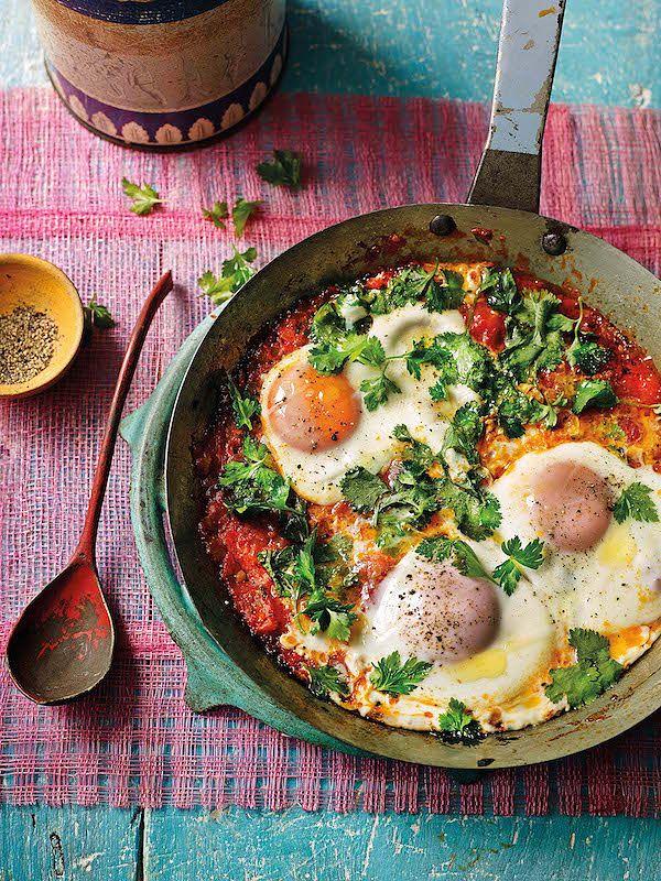 eggs rougaille