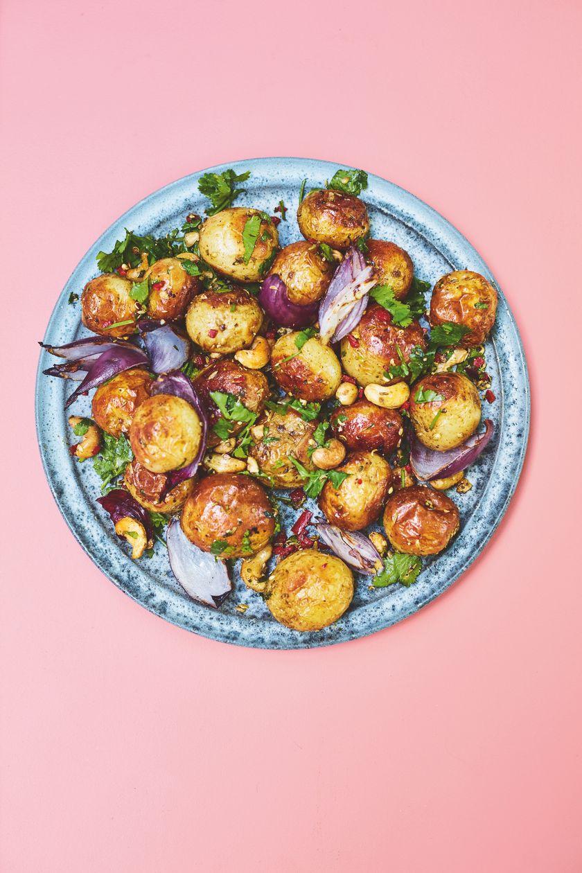 Rukmini Iyer Gunpowder Potatoes | Easy Vegan Barbecue Recipe
