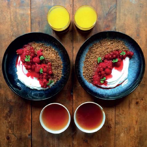 Simple Danish Rye Cereal (Ymerdrys) from Symmetry Breakfast