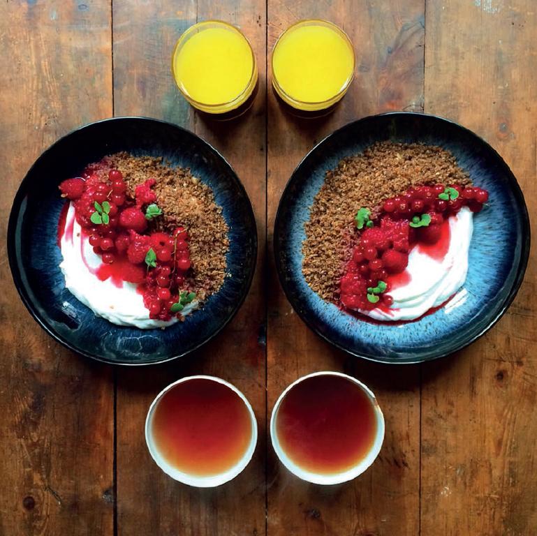 Danish Rye Cereal (Ymerdrys)