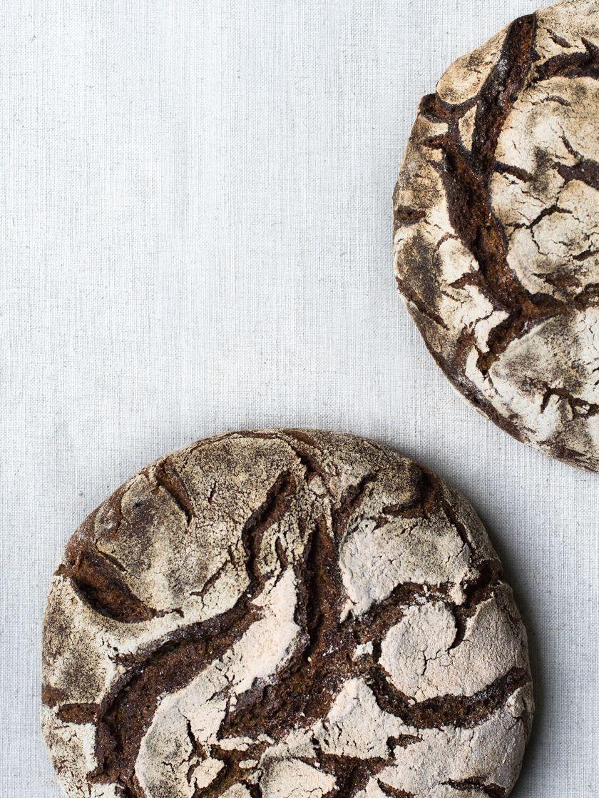 Rye Sourdough Bread Ahead