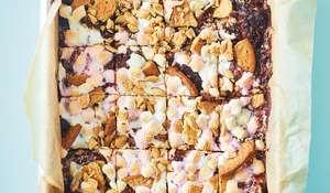 Easy Rocky Road Traybake | Simple Lockdown Tiffin Cake