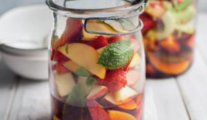Pimm's Fruit Salad