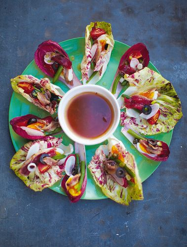 Rouleaux de salade Niçoise - Salad Niçoise Wraps