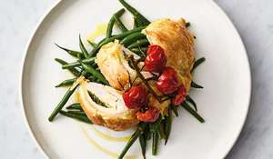 Jamie Oliver's 5 Ingredient Flaky Pastry Pesto Chicken Recipe