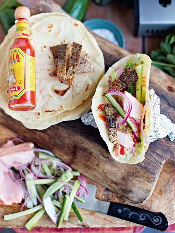 Tasty Salmon Tacos