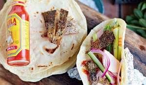 Jamie Oliver's Tasty Salmon Tacos