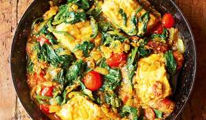 Salmon & Spinach Fish Curry Recipe | Meera Sodha, Made in India