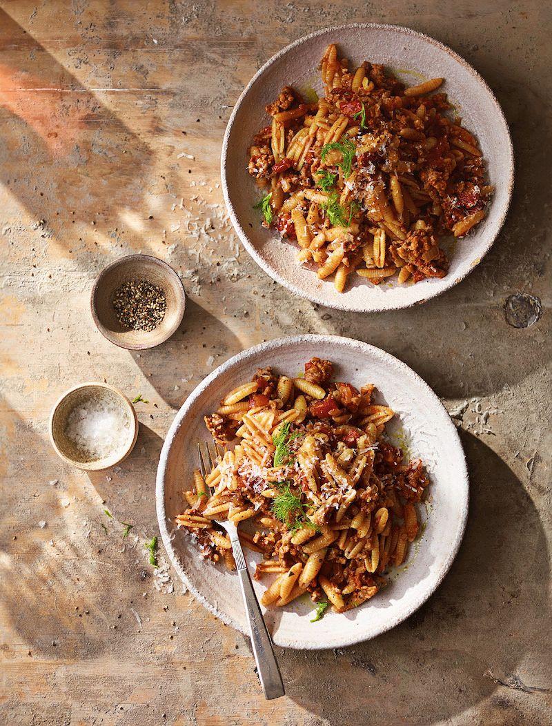 best recipes of 2020 Sardinian Pasta Shells fromAinsley's Mediterranean Cookbook by Ainsley Harriott