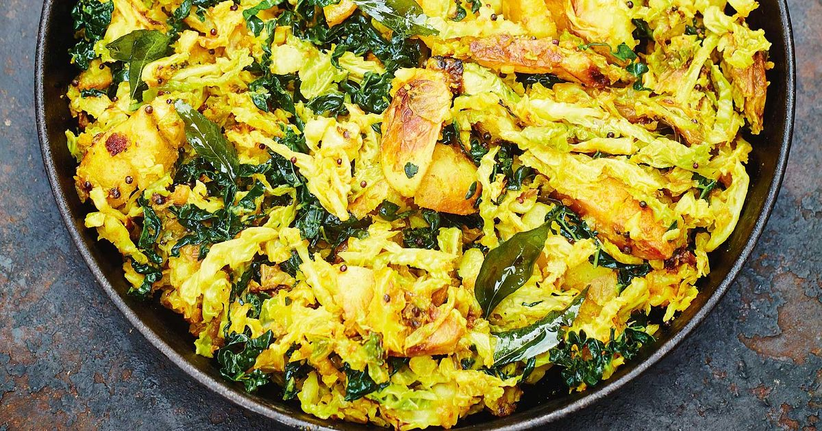 Meera Sodha Savoy Cabbage Vegetarian Curry Recipe Fresh India