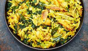 Meera Sodha's Savoy Cabbage Vegetarian Curry Recipe