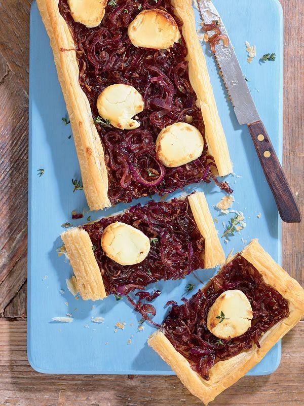 caramelised onion tart