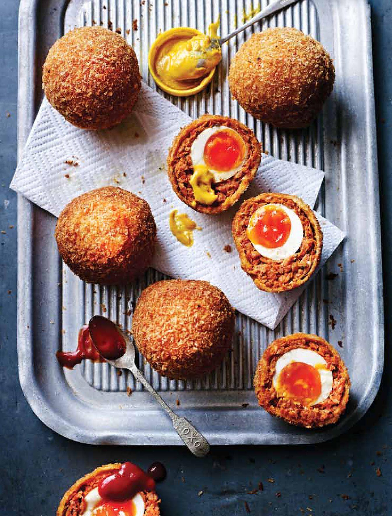 Scorching Chorizo Scotch Eggs - The Happy Foodie