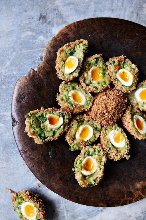 Aloo Tikki Scotch Eggs