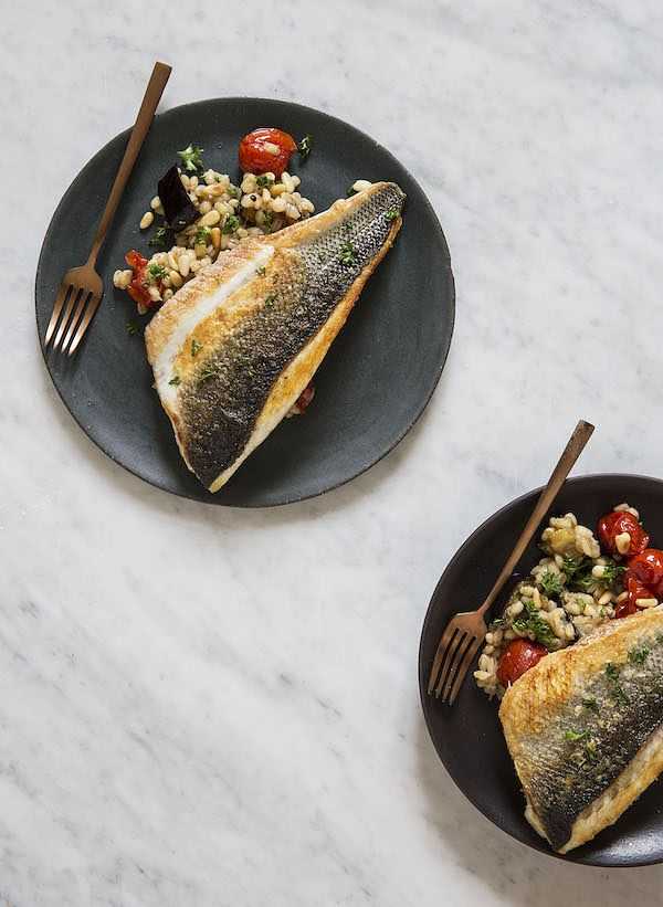 tomato recipes seabass tomato and pearl barley 26 grains