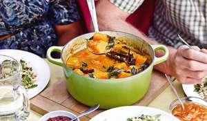 Sri Lankan Butternut Squash Curry