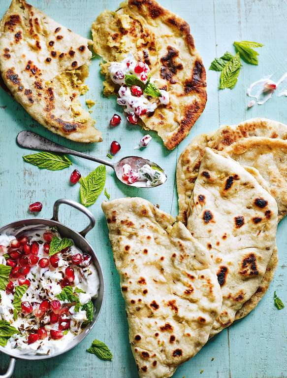 Aloo Paratha - Spicy Potato Bread