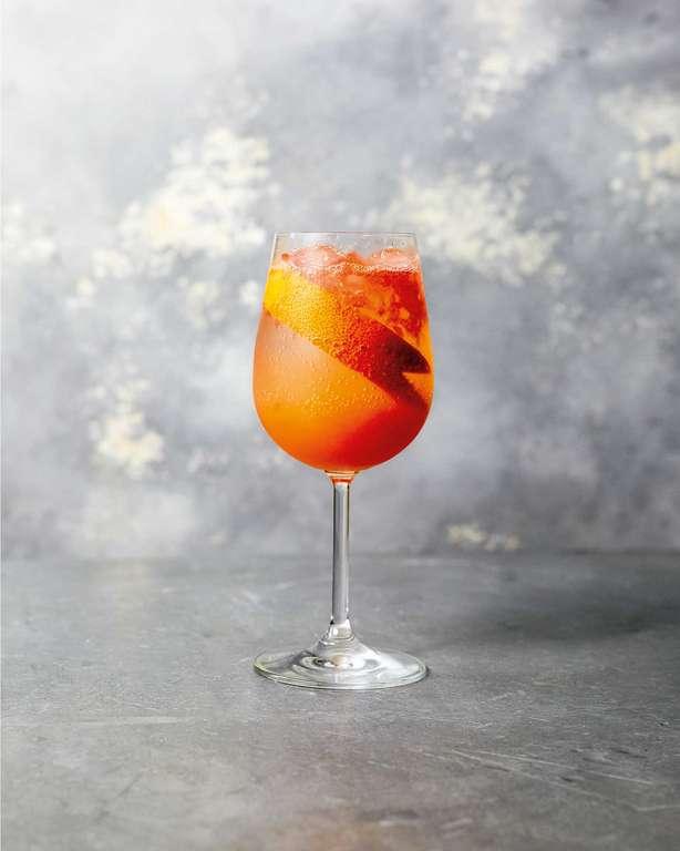 Sherbet Fizz Mocktail