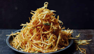 Shoe String Fries with Rosemary