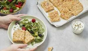 Shortcut Sheet Pan Fritters | Easy Baby Food Recipe