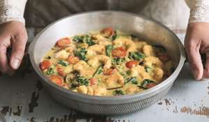 Simple Prawn, Coconut and Aubergine Curry from Amelia Freer's Cook. Nourish. Glow.