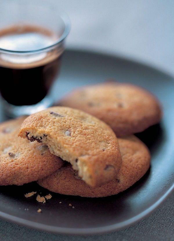 Chocolate Chip CookiesfromSimple Cakes by Mary Berry