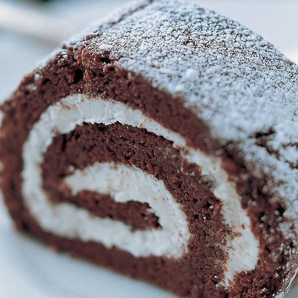 the ultimate chocolate roulade the happy foodie